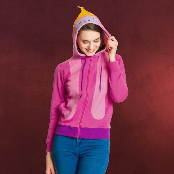 Adventure Time - Princess Bubblegum Kapuzenjacke Damen pink