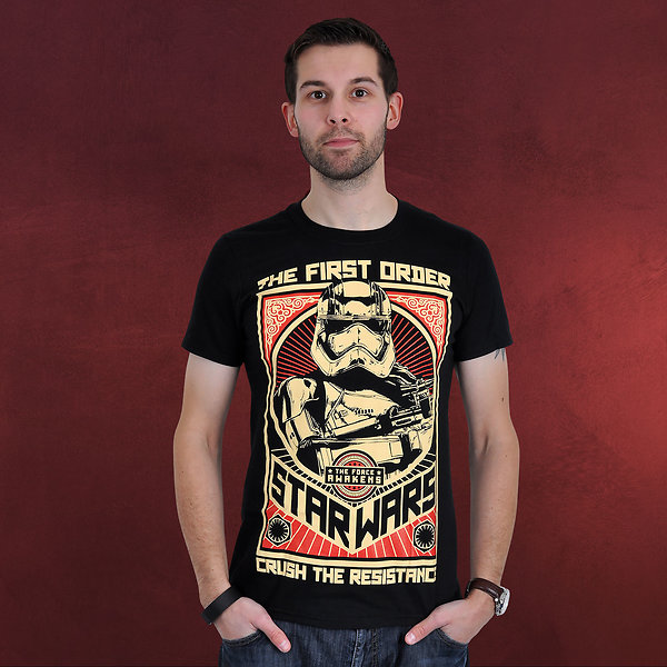 Star Wars - Crush The Resistance T-Shirt