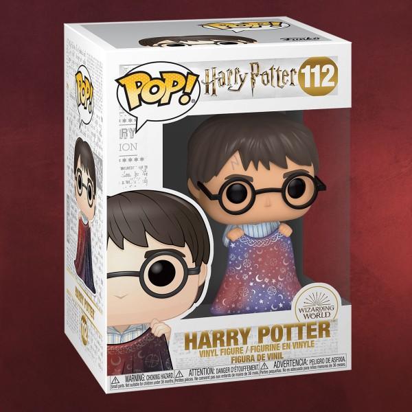 Harry Potter mit Tarnumhang Funko Pop Figur