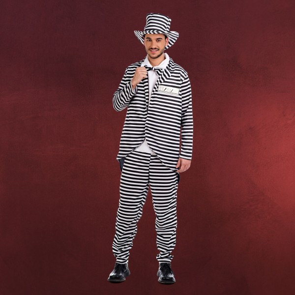 Mister Sträfling - Kostüm Herren