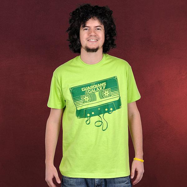 Guardians of the Galaxy - Mixtape T-Shirt neon