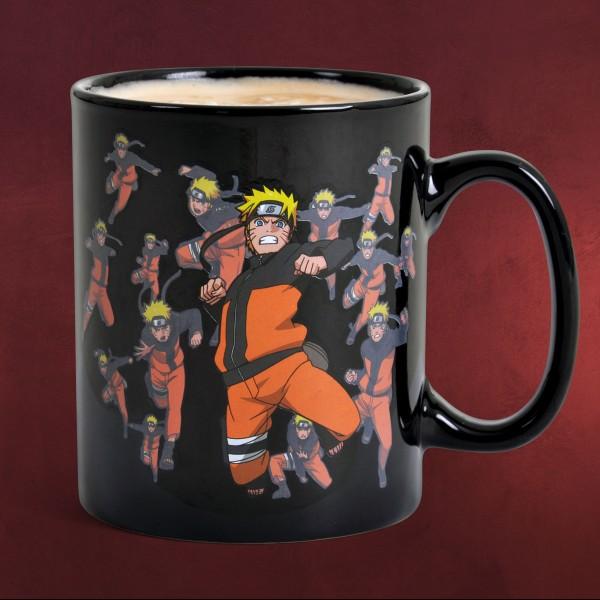 Naruto - Thermoeffekt Tasse