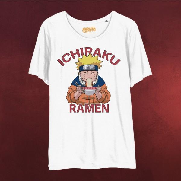 Naruto - Ichiraku Ramen T-Shirt Damen weiß