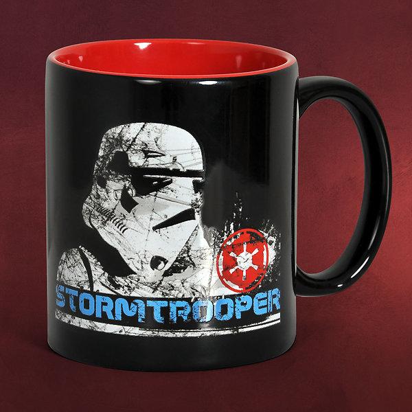 Star Wars - Stormtrooper Tasse schwarz