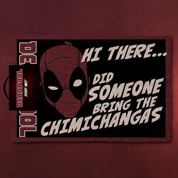Deadpool - Mask Fußmatte