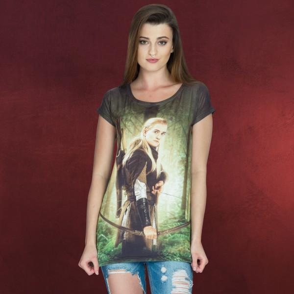 Herr der Ringe - Legolas Girlie Shirt Loose Fit