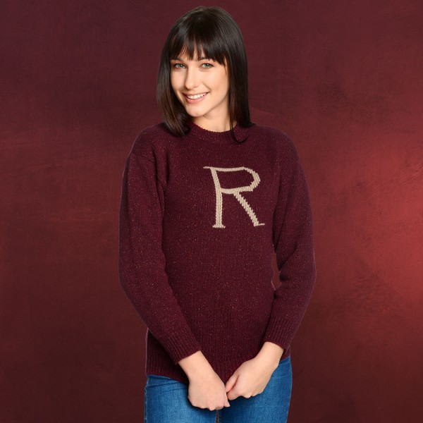Harry Potter - R for Ron Strickpullover rot