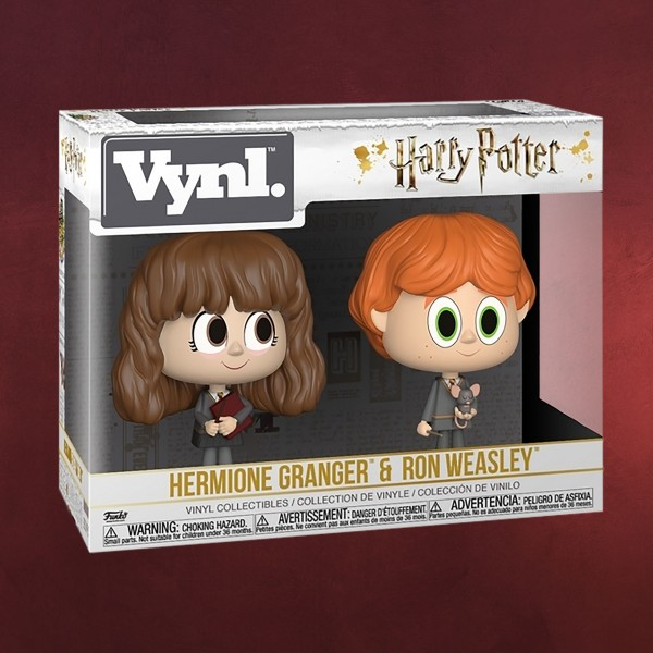Harry Potter - Hermine & Ron Funko Vynl Figuren