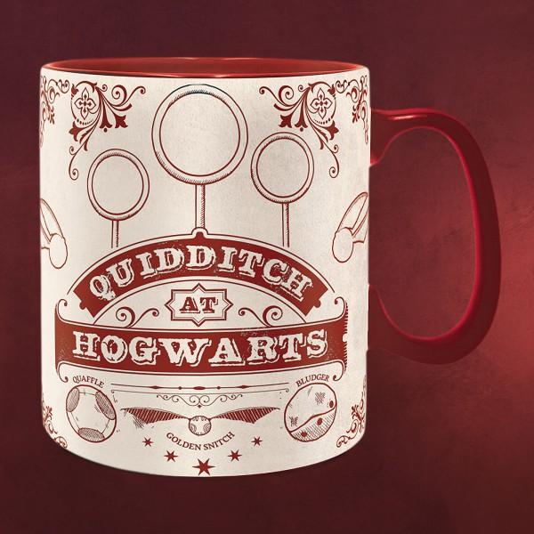 Harry Potter - Quidditch at Hogwarts Tasse