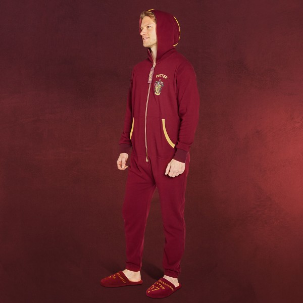 Harry Potter - Quidditch Gryffindor Onesie rot
