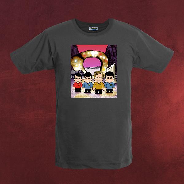 Star Crew - Toonstar Cartoon T-Shirt