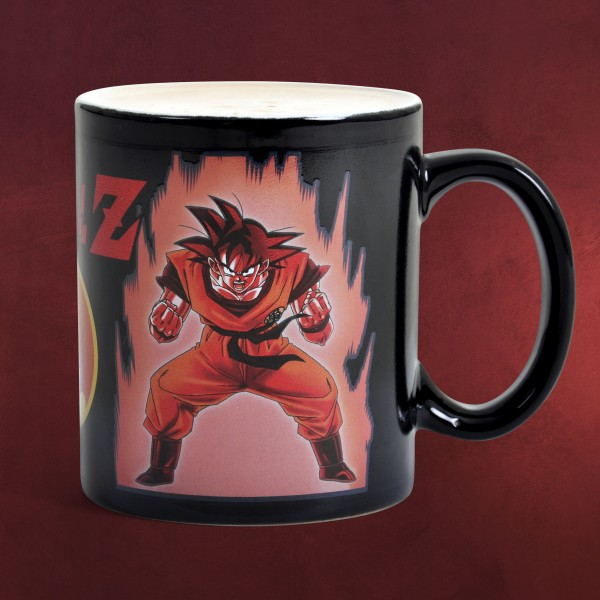 Dragon Ball - Saiyajin Son Goku Thermoeffekt Tasse