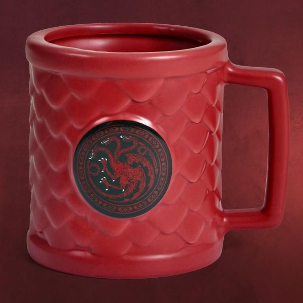 Game of Thrones - Targaryen Drachenei Relief Tasse
