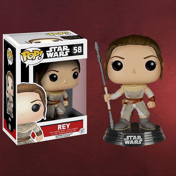 Star Wars - Rey Wackelkopf-Figur