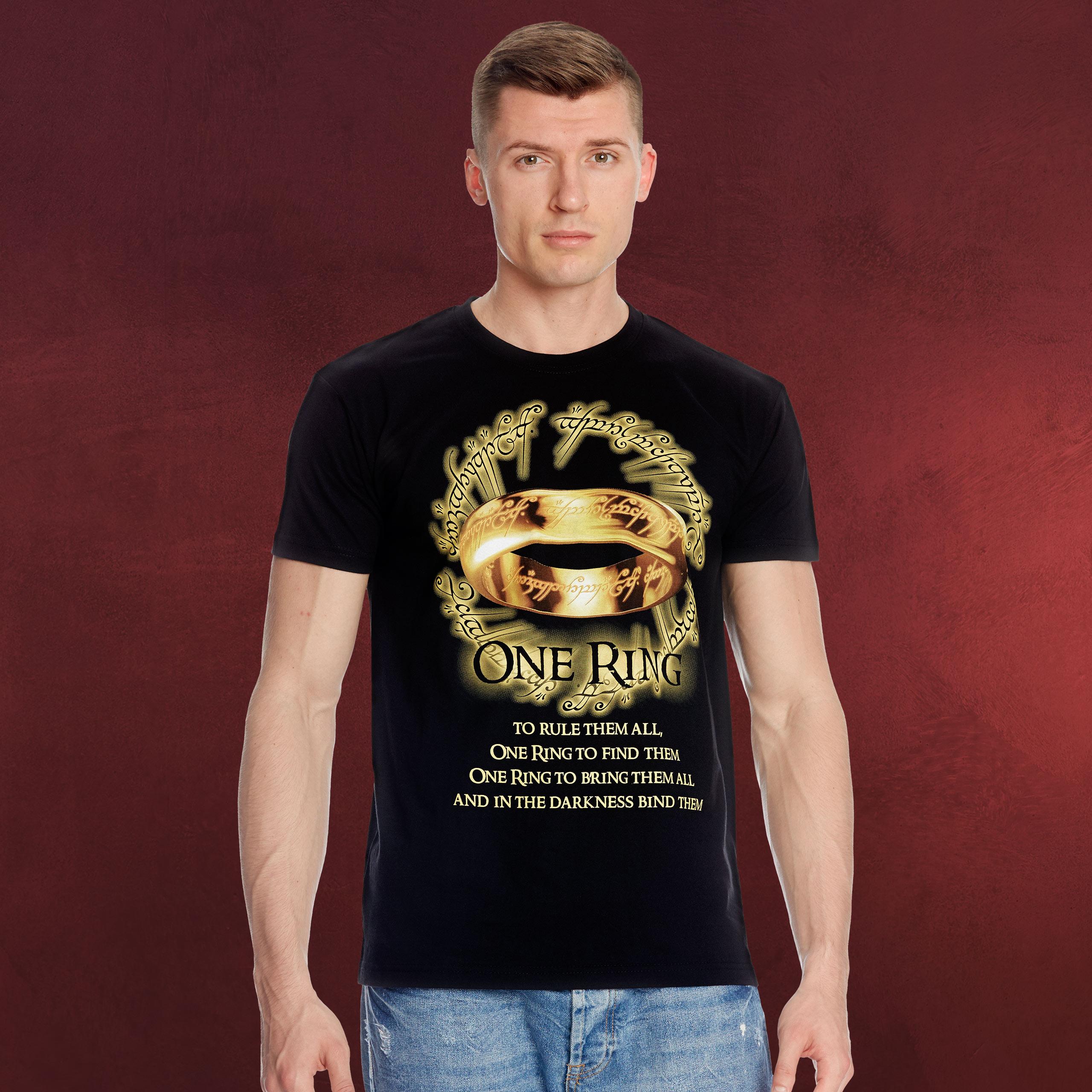 6f801cba200c4c Der Eine Ring T-Shirt | Herr der Ringe | Elbenwald