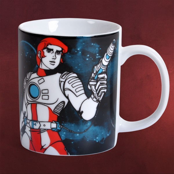 Captain Future- Superhelden Tasse