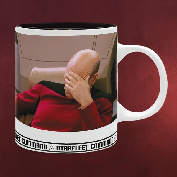 Star Trek - Picard Facepalm Tasse