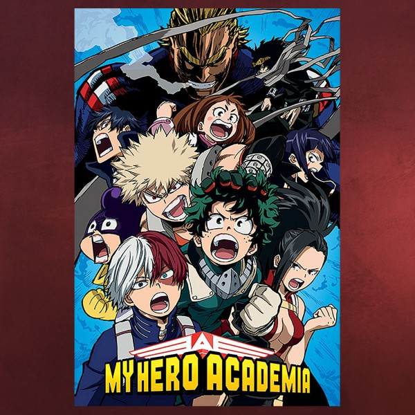 My Hero Academia - Group Maxi Poster