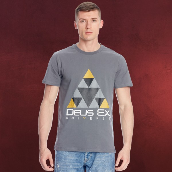 Deus Ex - Sierpinski T-Shirt grau
