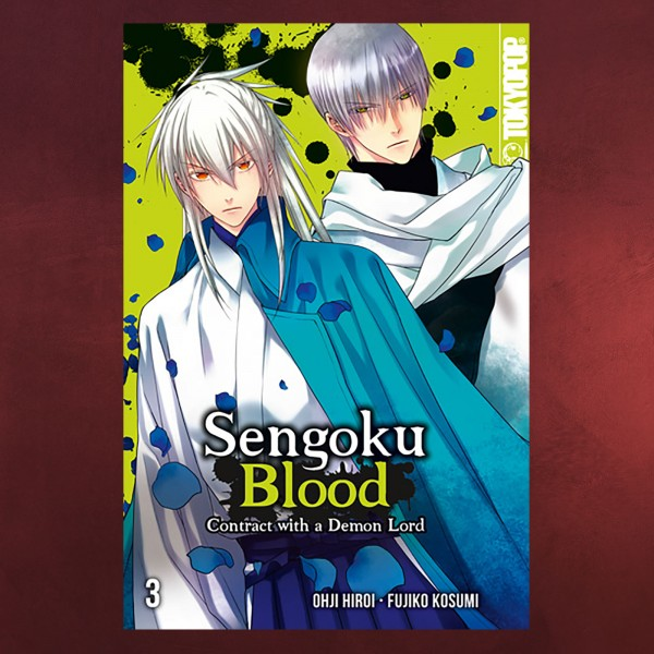 Sengoku Blood - Contract with a Demon Lord Band 3 Taschenbuch