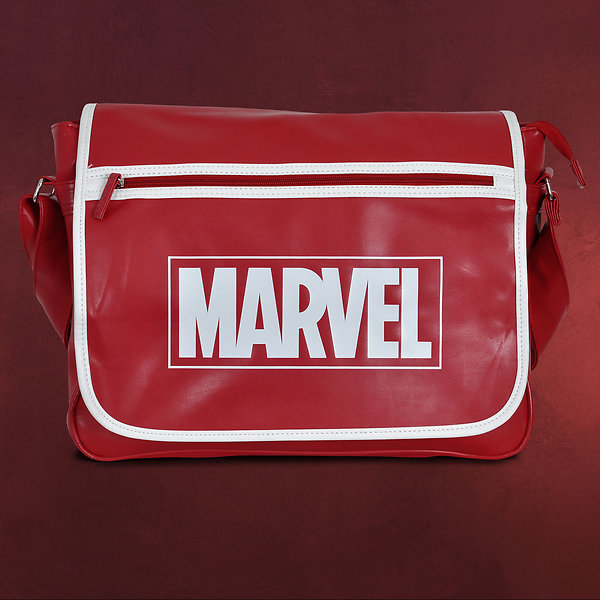 Marvel Logo Messenger Bag rot