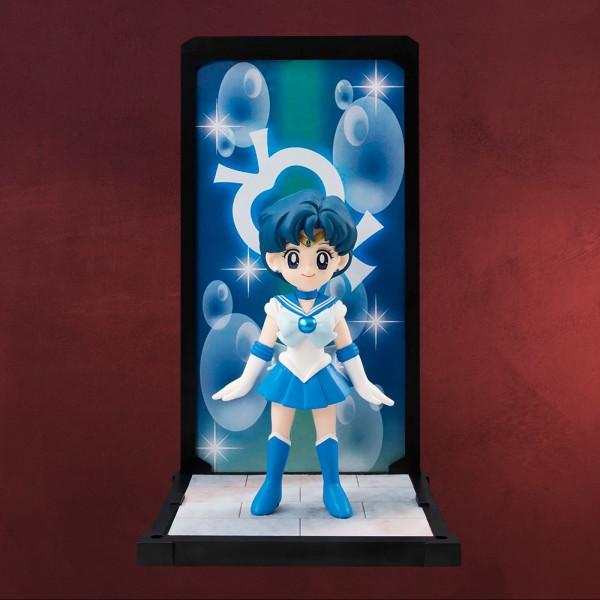 Sailor Moon - Merkur Sammlerfigur mit Diorama 9 cm