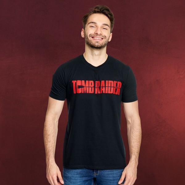 Tomb Raider - Logo T-Shirt schwarz