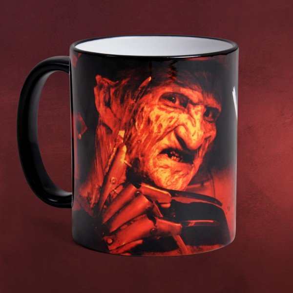Freddy Krueger Welcome - Nightmare on Elm Street Tasse