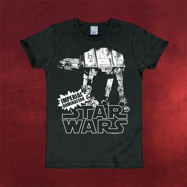 Star Wars - AT-AT T-Shirt schwarz