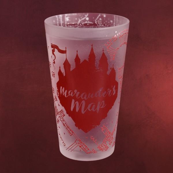 Harry Potter - Marauders Map Kälteeffekt Glas