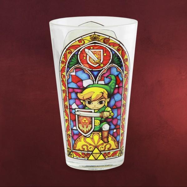 Zelda - Link Allover Glas