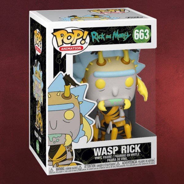 Rick and Morty - Wasp Rick Funko Pop Figur