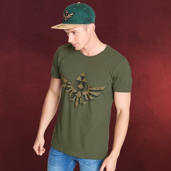 Zelda - Vintage T-Shirt oliv