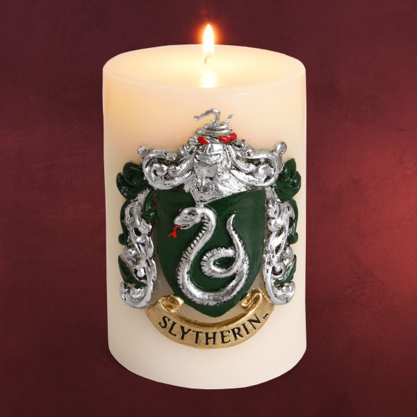 Harry Potter - Slytherin Wappen XL Kerze