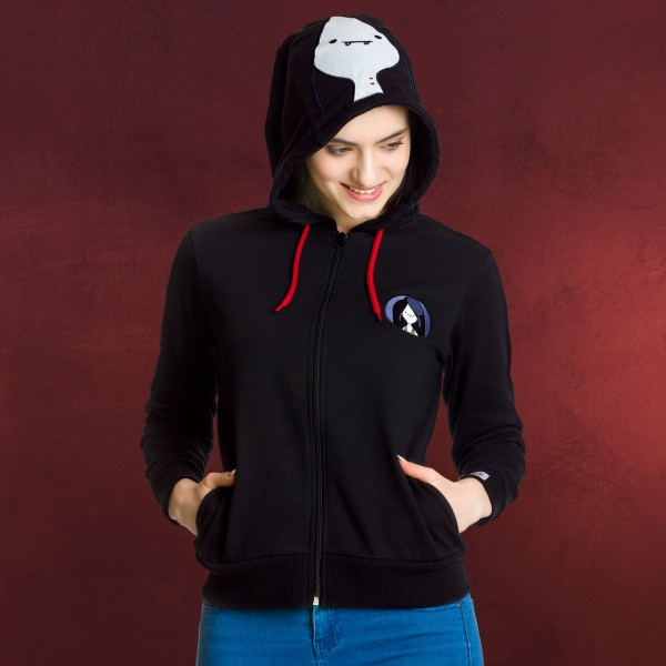 Adventure Time - Marceline Kapuzenjacke Damen schwarz