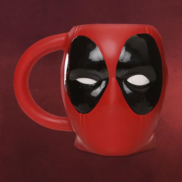 Deadpool - Mask 3D Tasse