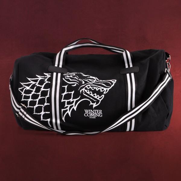 Game of Thrones - Stark Wappen Sporttasche schwarz