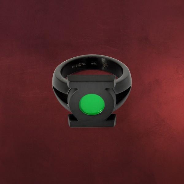 Green Lantern Emblem Ring schwarz