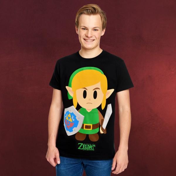 Zelda - Link's Awakening T-Shirt schwarz