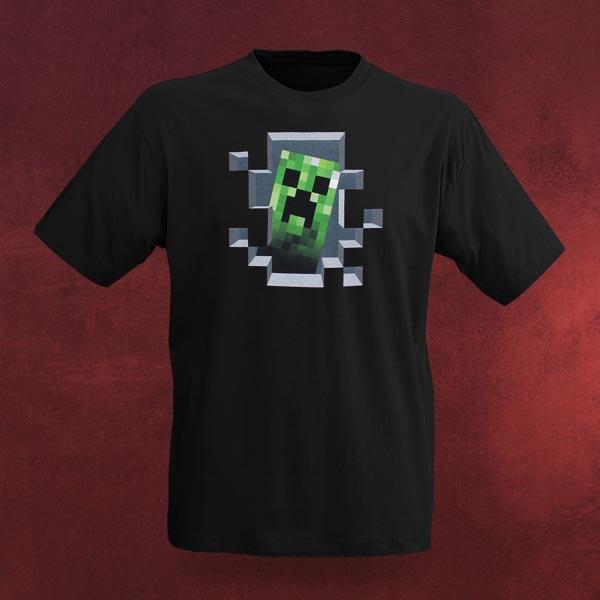 Minecraft T-Shirt - Creeper inside