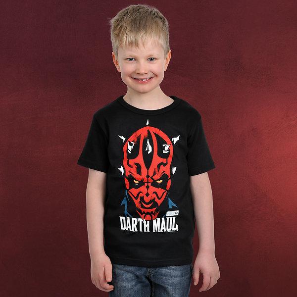 Star Wars - Darth Maul Kinder T-Shirt schwarz