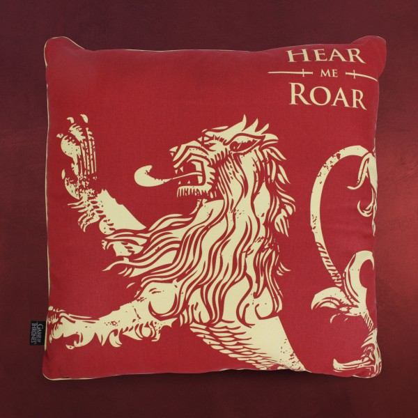 Game of Thrones - Lannister Hear Me Roar Kissen
