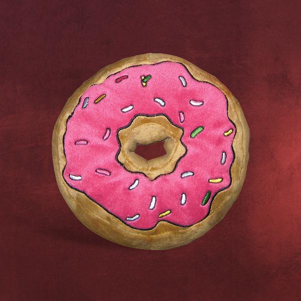 simpsons donut kissen the simpsons elbenwald. Black Bedroom Furniture Sets. Home Design Ideas