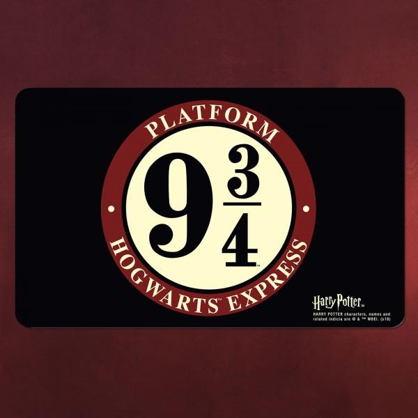 Harry Potter - Hogwarts Express Gleis 9 3/4 Frühstücksbrettchen