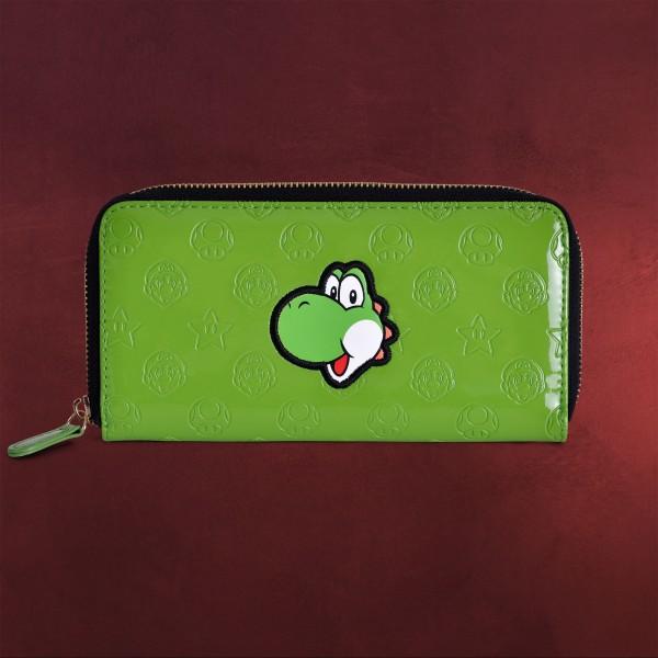 Super Mario - Yoshi Geldbörse grün