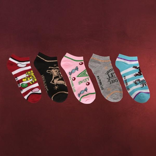 Harry Potter - Honeydukes Sneaker Socken 5er Set
