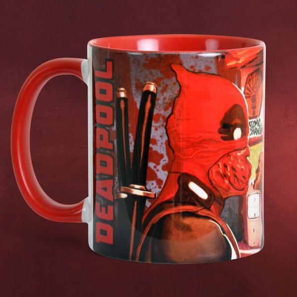 Deadpool - Dynamite Tasse rot