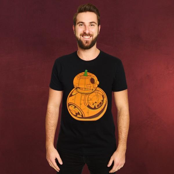 Star Wars - Pumpkin BB-8 T-Shirt schwarz