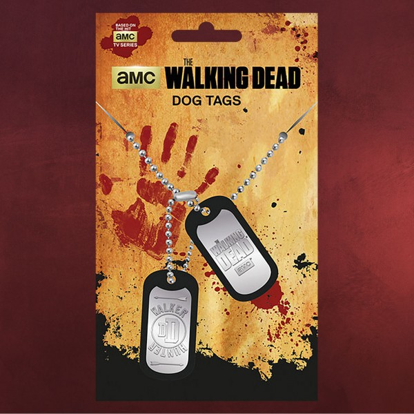 Walking Dead - Walker Dog-Tag Kette