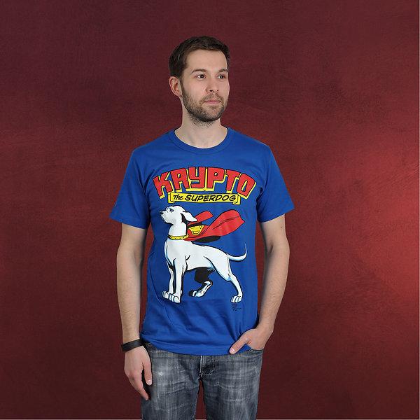 Superdog - Krypto T-Shirt blau